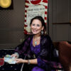 Lori Lytle of Inner Goddess Tarot at Blissdom 2014's Carnival Night