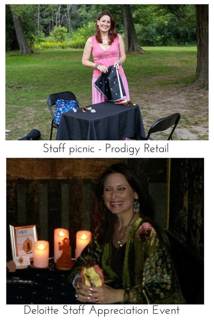 Tarot at Gala corporate events