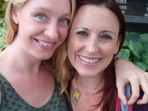 Shelly Burton (Reiki with Shelly) and Lori Lytle (Inner Goddess Tarot)