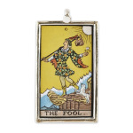 The Fool as a Pendant, I like to choose a different card to wear depending on the day