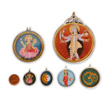 Goddess pendants scale photo