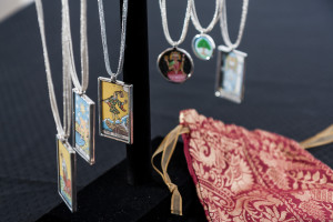 A silk Tarot bag is a fitting vessel for your beloved cards