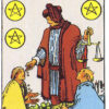 Six of Pentacles Rider Waite Smith