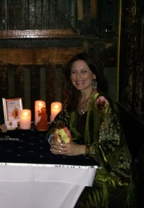 Very atmospheric space to read Tarot in at my recent corporate event!