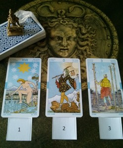 Cards from Universal Waite Deck