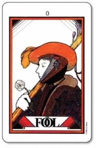 The Fool, Aquarian Tarot