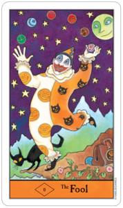 The Fool, Halloween Tarot