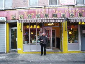 Nom Wah Tea Parlor in NY Chinatown, awesome Dim Sum & atmosphere