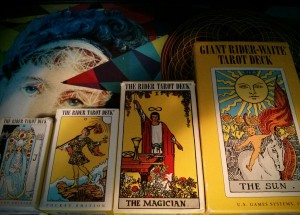 I have a fondness for the RWS Tarot, can you tell?