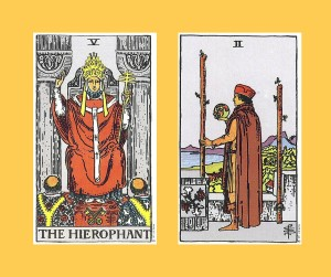 Hierophant_Two_Wands