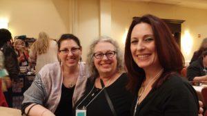 Heatherleigh Navarre, Shelley Carter (Elora Tarot) and me