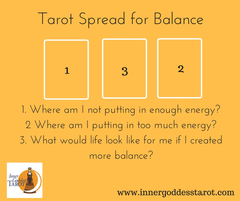 Looking for Balance in the Cards: A Tarot Spread and A Story | Inner
