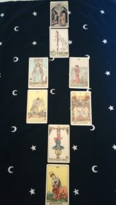 Self confidence Tarot spread