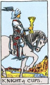 Knight of Cups Tarot
