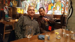 Al Juarez and Rome Choi Dreaming Way Tarot in NYC Chinatown