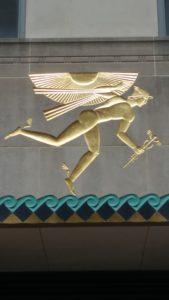 Rockefeller Plaza NYC Hermes