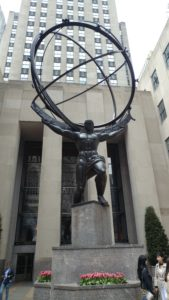 Atlas 30 Rock NYC