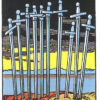 Ten of Swords Tarot