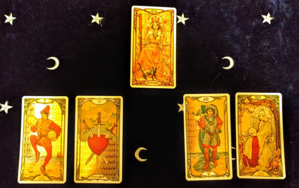career change choice tarot spread