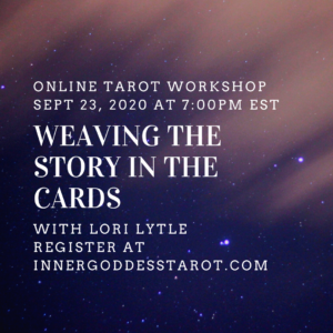Weaving the Story in the cards Tarot Class