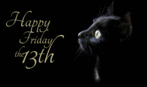 Black Cat on Friday the 13th